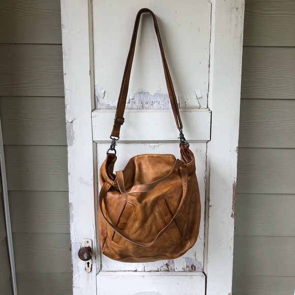 Free People Handbags - Free People Hobo Bag Cow Leather